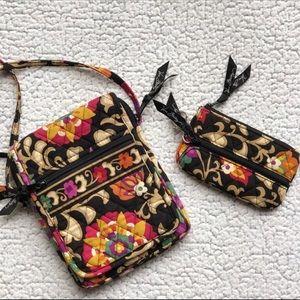 Vera Bradley Mini Hipster Suzani Crossbody Bag